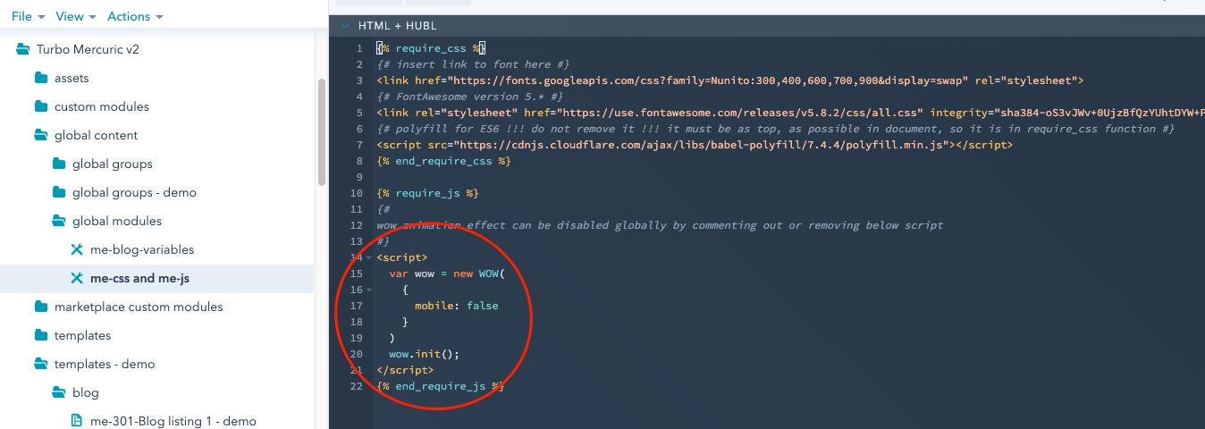 Wow code